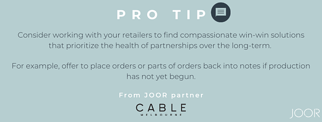 Cable Melbourne Recommendation for JOOR Pro Brands
